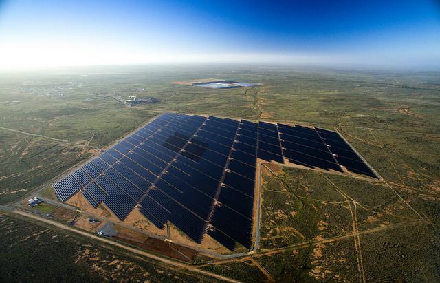 AGL-ARENA Broken Hill solar plant