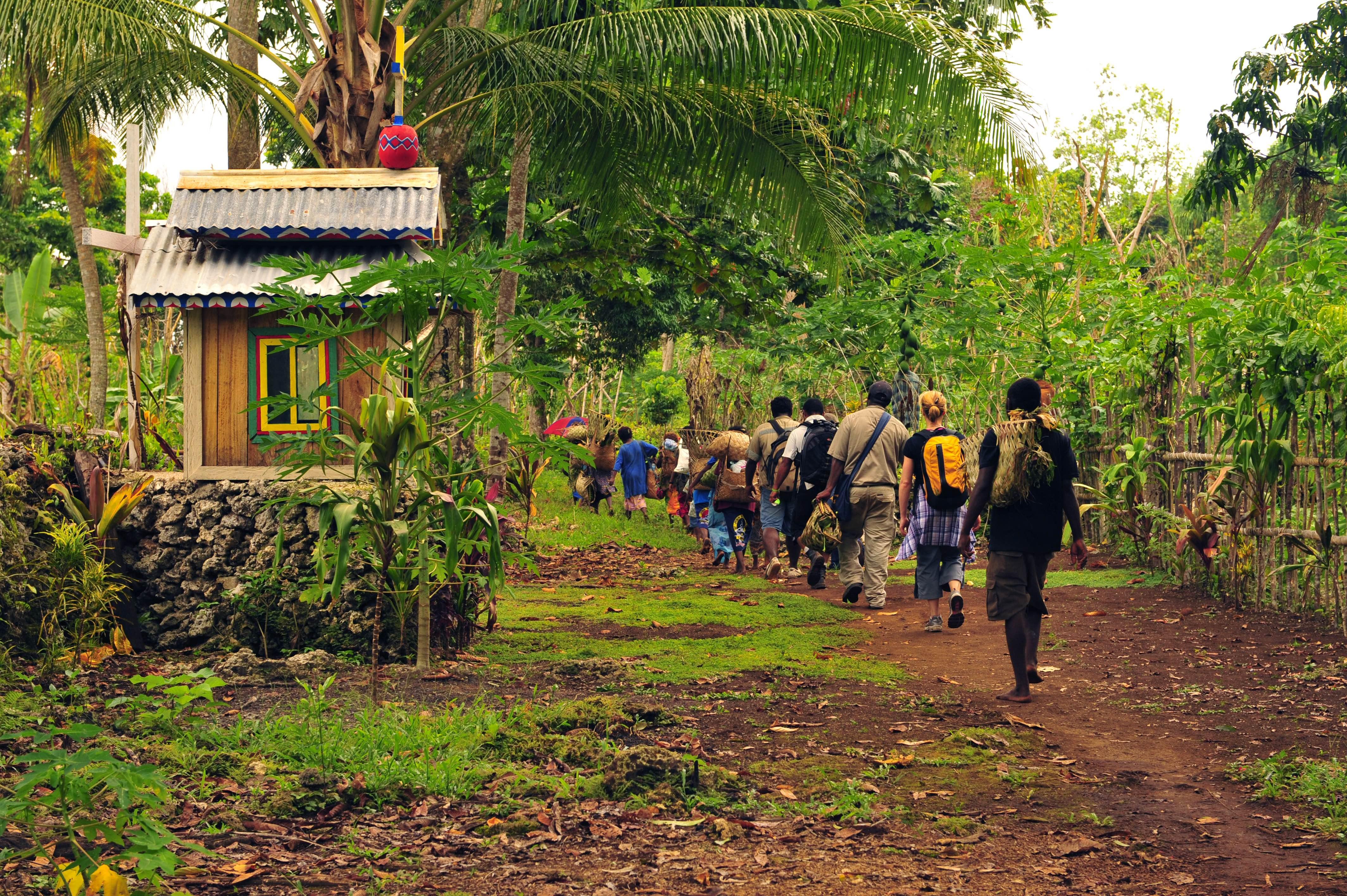 Church Opening, Mahur, PNG