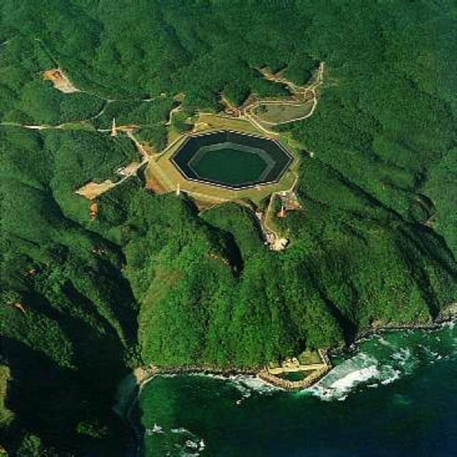 Yanbaru Okinawa pumped hydro energy storage