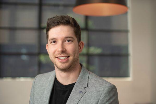 PhD student Mathieu Pichault